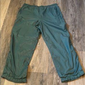 Vintage Nike Windbreaker Track Pants With Lining